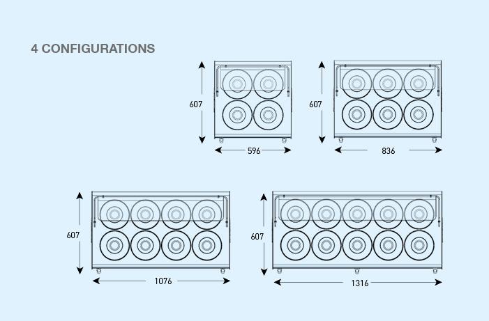 BRX _ Joy, 4 configurations