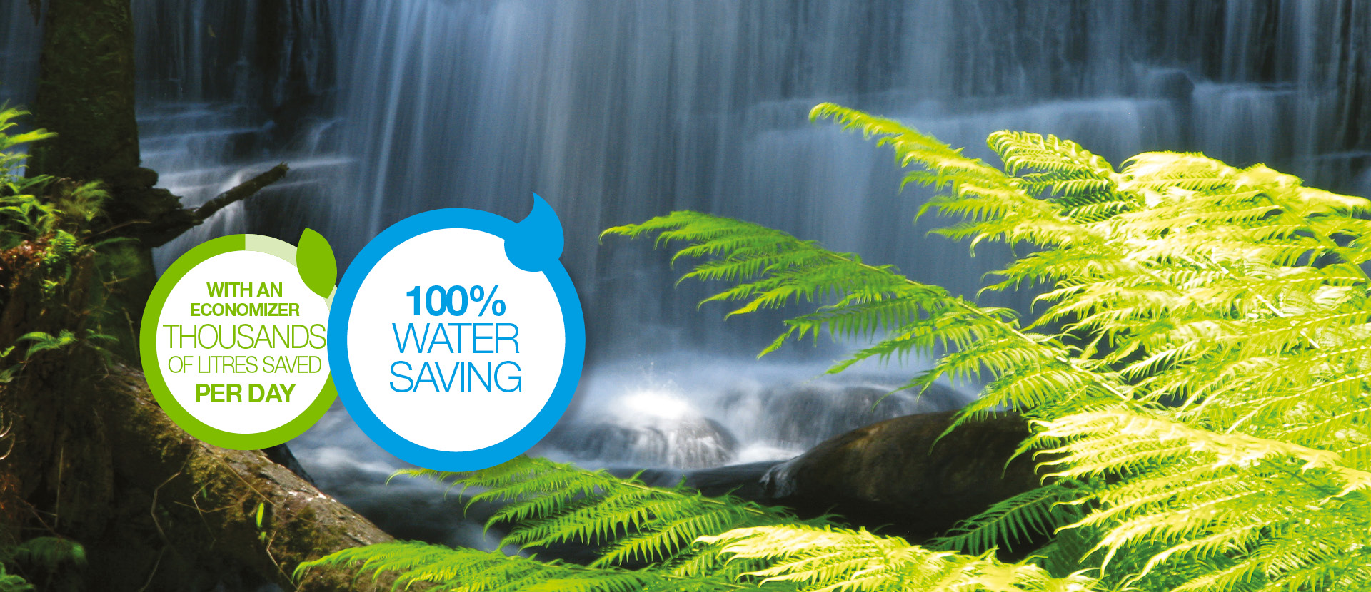 BRX _ Economizer water saving thousands litres saved