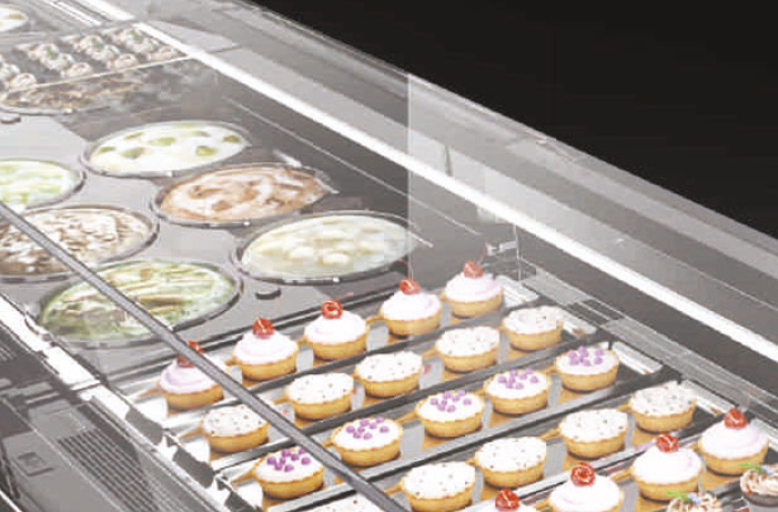 BRX _ Vista Pastry, vetrina pasticceria, tante configurazioni 1