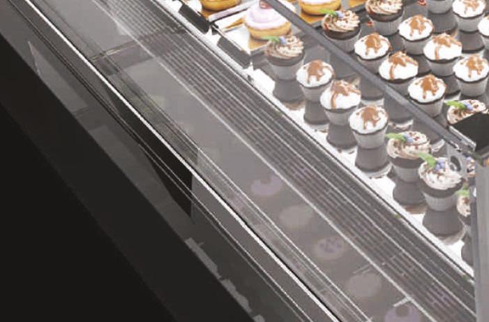 BRX _ Vista Pastry, vetrina pasticceria, tante configurazioni 3